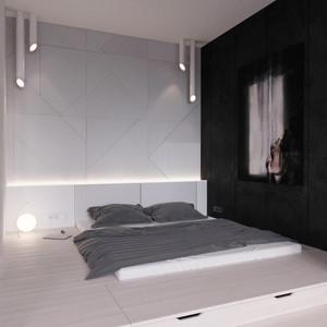 现代风格精致卧室背景墙装修效果图大全