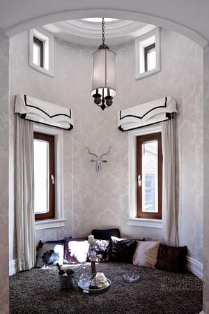 新古典主义风格别墅室内飘窗设计装修效果图赏析