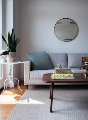 61平米宜家风格一居室小户型室内装修效果图赏析