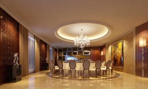 90平米欧式风格酒店包厢设计装修效果图赏析