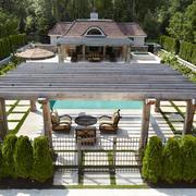 欧式风格别墅花园设计装修效果图