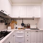 简欧风格小户型室内整体厨房设计装修效果图赏析