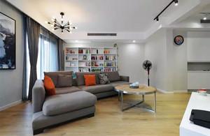 136平米后现代风格大户型室内装修效果图赏析