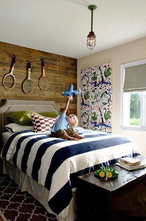 美式乡村风格儿童房间装修效果图赏析