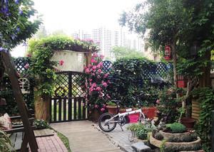 简欧风格入户花园设计装修效果图