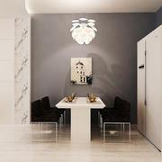 现代简约风格创意餐厅吊灯设计装修效果图