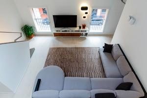 59平米现代简约风格loft装修效果图赏析