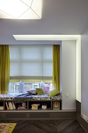 现代风格自然文艺飘窗设计装修效果图大全
