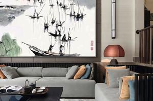 260平米古韵中式风格别墅室内装修效果图赏析