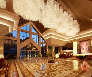 精致奢华欧式风格酒店大堂设计装修效果图