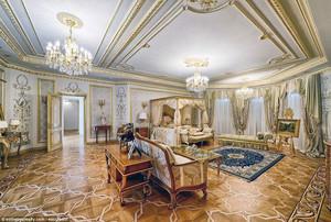 90平米欧式风格酒店总统套房装修效果图赏析