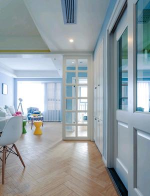北欧风格自然简洁三室两厅室内装修效果图赏析