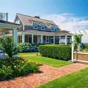 美式风格独栋别墅花园设计装修效果图赏析