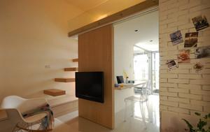 58平米现代简约风格loft装修效果图案例