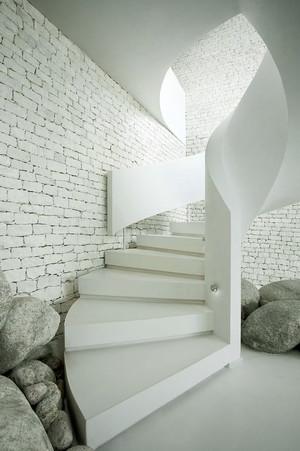北欧风格小复式楼梯装修效果图赏析
