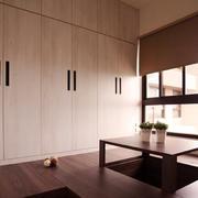 新中式风格大户型室内榻榻米床设计装修效果图赏析