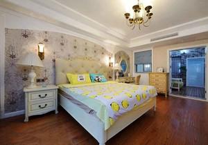 美式田园风格大户型室内卧室装修效果图赏析