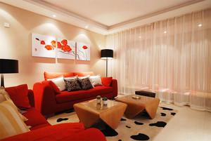 100平米现代简约风格室内设计装修实景图案例
