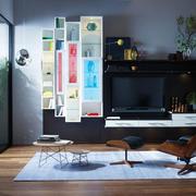 现代简约风格小户型客厅电视背景墙装修效果图赏析
