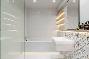 52平米北欧风格一居室小户型室内装修效果图案例