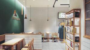 后现代风格趣味咖啡厅装修效果图赏析
