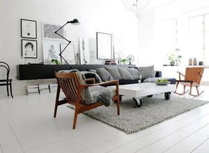 90平米北欧风格室内设计装修样板图赏析