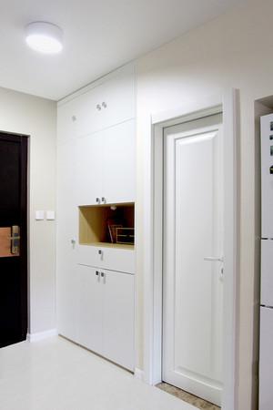 59平米现代简约风格纯情白色公寓装修效果图