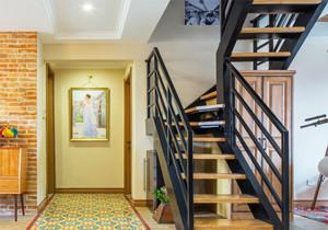 后现代风格小复式楼梯装修效果图赏析