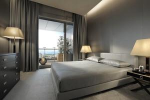 后现代风格冷色调卧室装修效果图赏析
