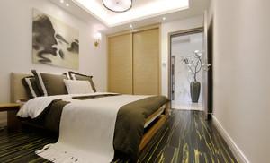 98平米时尚色彩混搭风格三室两厅室内装修效果图