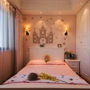 简欧风格大户型儿童房衣柜设计装修效果图