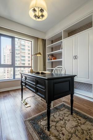 155平米简约美式风格大户型室内装修效果图赏析