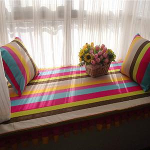 现代风格精美飘窗垫设计装修效果图大全