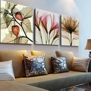 现代风格三居室室内客厅背景墙装修效果图
