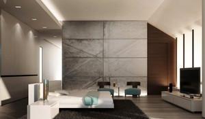 现代风格大户型主卧室装修效果图大全