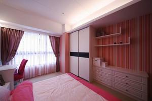 欧式风格温馨粉色卧室衣柜装修效果图赏析