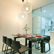 后现代风格精致餐厅厨房隔断设计装修效果图赏析