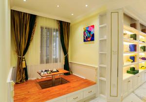 现代简约风格两居室室内榻榻米床装修效果图赏析