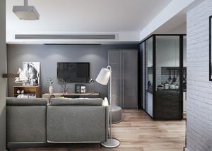 135平米现代简约风格小复式楼装修效果图赏析