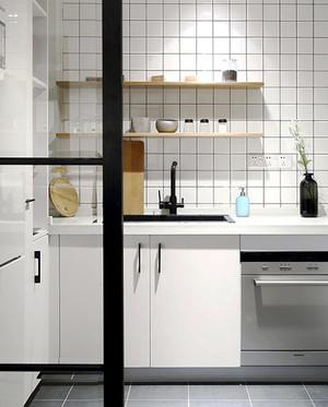 56平米宜家风格自然朴素一居室小户型装修效果图