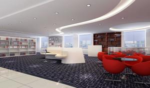 160平米现代风格书店设计装修效果图