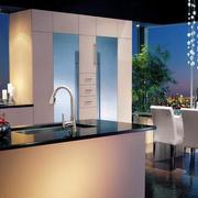 现代风格小户型室内厨房餐厅装修效果图赏析