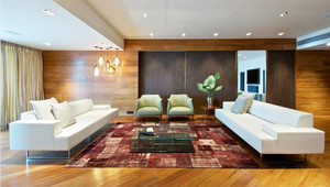 140平米东南亚风格大户型装修效果图案例