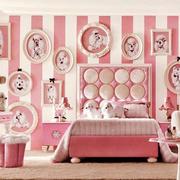 简欧风格两居室粉色梦幻儿童房装修效果图赏析