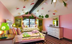 欧式田园风格大户型室内儿童房间装修效果图赏析