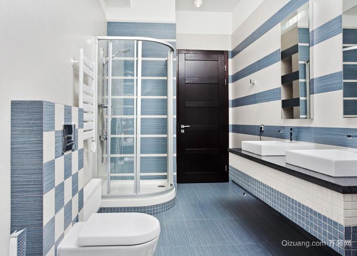 现代简约风格两居室卫生间淋浴房装修效果图赏析