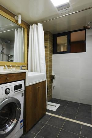 200平米清新美式风格别墅室内装修效果图案例
