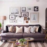 宜家风格小户型客厅背景墙装修效果图