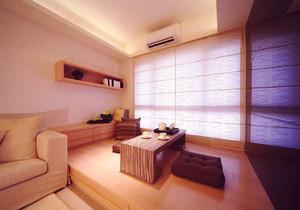 日式风格大户型榻榻米床装修效果图赏析
