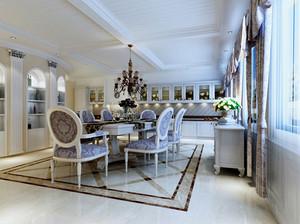 精致欧式风格别墅室内装修效果图案例